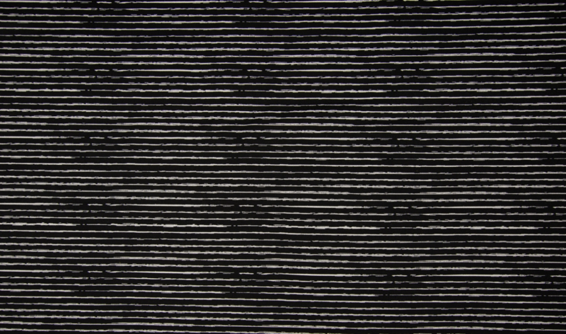 Qjutie poplin streepjes zwart