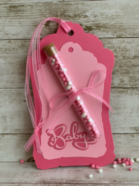 Labels baby - 'baby roze' #3