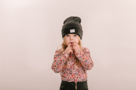 No Labels kids beanie Black