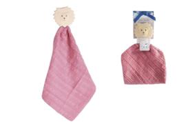 Tikiri Comforter Swaddle Safari pink