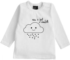 Babystyling long sleeve rain is just confetti