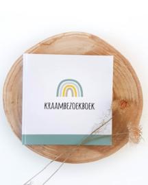 Sus Design Kraambezoekboek Mintgroen