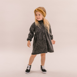 No Labels kids Grey Leo dress