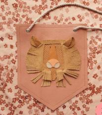 Atelier Ovive wandhanger leeuw roze