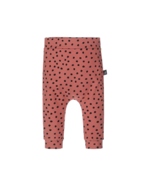 Babystyling baggy oud roze dots