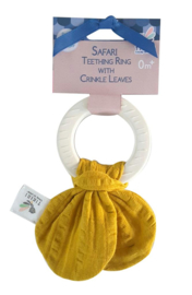 Tikiri Comforter Teether Yellow