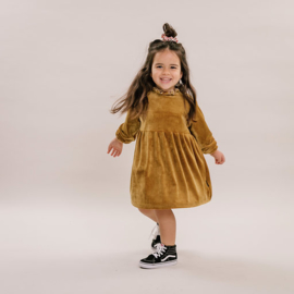 No Labels kids Dress Velvet Gold
