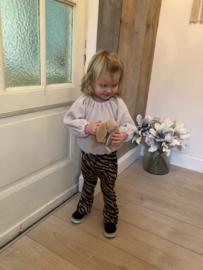 Kiekebroek Flared zebra pants