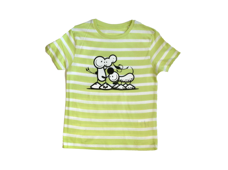 Kid Shirt Striped Dalmation Dog
