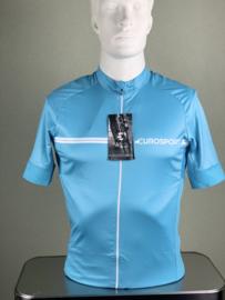 Korte mouw, Eurosport, Aqua blauw