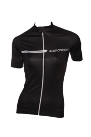 Eurosport Shirt korte mouw, zwart
