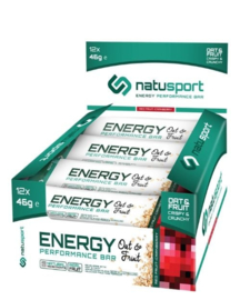 Natusport Energy Bar Red Fruit Cranberry (p/st)