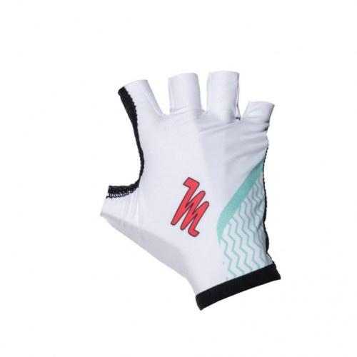 MissM zomer handschoen wit/cockatoo groen