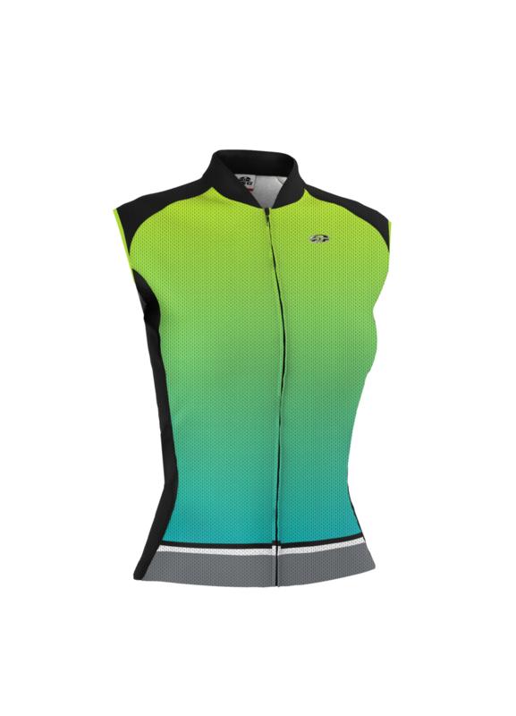 GSG Sunstone Sleeveless Jersey (Woman) Neon Green