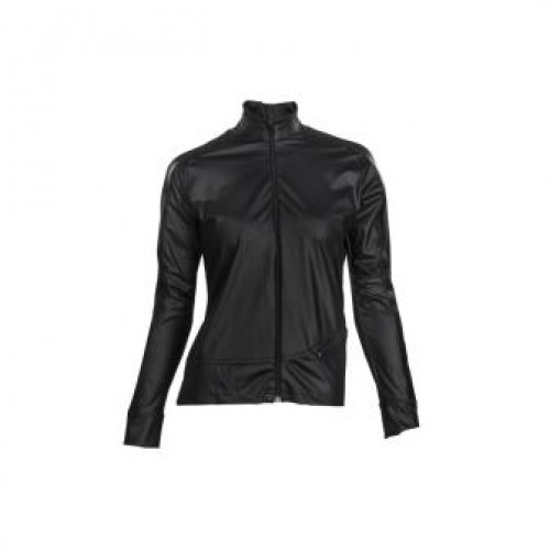 MissM Luxe shirt lange mouw - glossy black