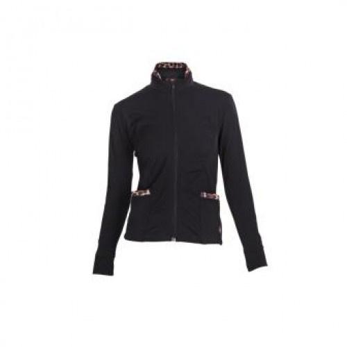 MissM Luxe shirt lange mouw - black/panter