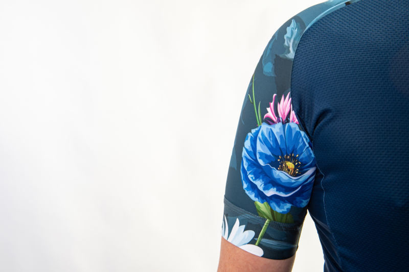 Yarn Jersey Floral