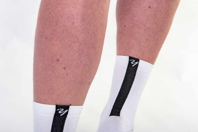 Yarn Sokken (Zwart / Wit)