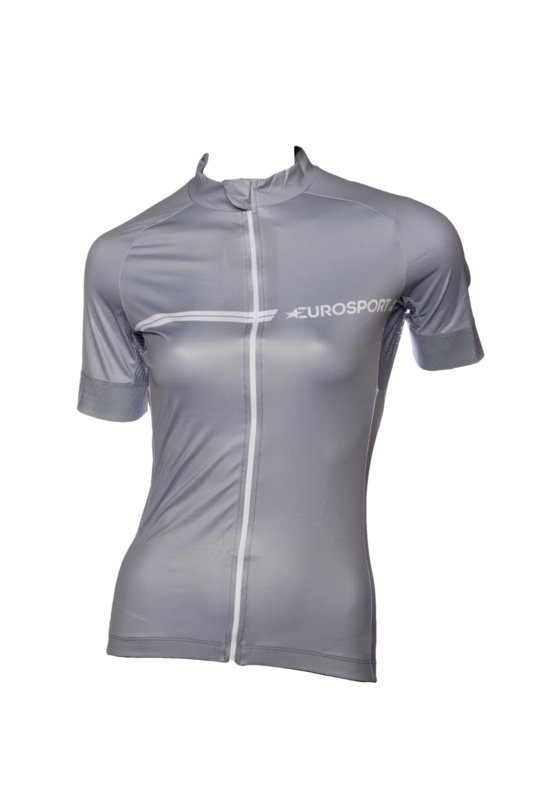 Eurosport Shirt korte mouw, silver/grey