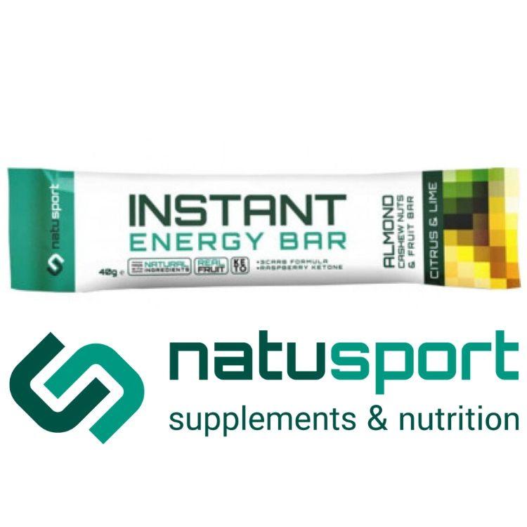 Natusport Energy Bar Citrus Lime (p/st)