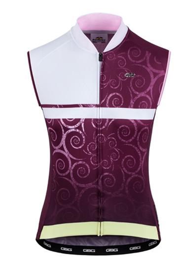 GSG Sunstone 81 woman sleeveless Jersey Bordeaux