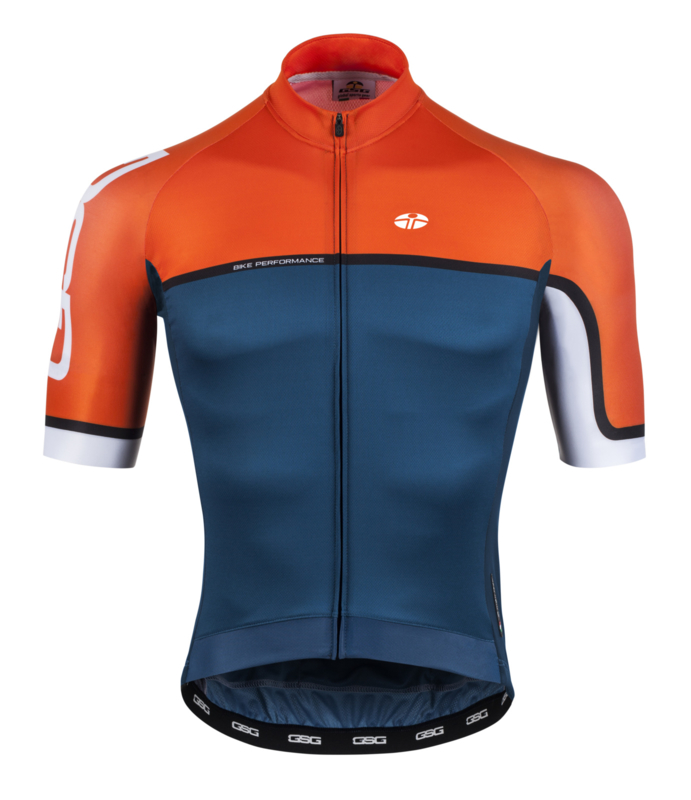 GSG Mortirolo Jersey Blue/Orange