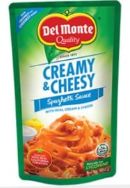 Del Monte Spaghetti sauce Creamy and Cheesy 500g