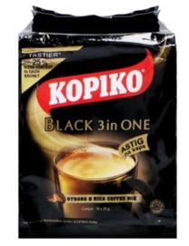 Kopiko Black 3 in 1 Astig Instant Powder 25g