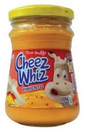 Kraft Cheez Whiz Pimiento 220g