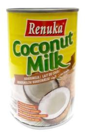 Kokosmelk (17% Vet) 400ml Renuka