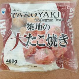 Takoyaki Octopus balls 480g