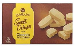 Goldilocks Classic Polvoron 12x25g 300g