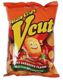Jack n Jill V Cut Potato Chips Spicy BBQ 60g