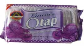 Laura's Otap cracker ube 210g