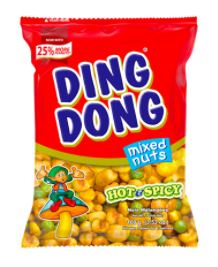 Ding Dong Peanuts mix spicy 100g