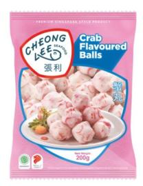 Cheong Lee Seafood Visballen met Krabsmaak 200g