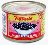 TEMPLE Salted Black Beans 180g