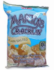 OISHI Marty's Cracklin Plain Salted 90g