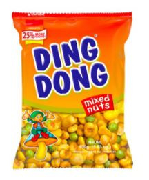 Ding Dong Peanuts mix 100g