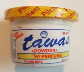 Snow White Tawas yellow scented 50g