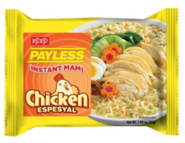 Payless Instant Noodles Chicken Espesyal 50g