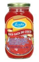 Monika Dessert van Rode Kokosgelblokjes 340g