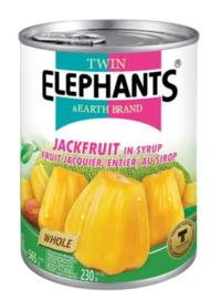 Twin Elephants Jackfruit in Siroop (heel) 565g