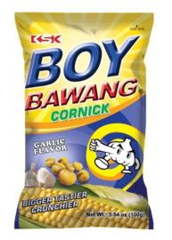 KSK Boy Bawang Cornick Garlic flavor 100g
