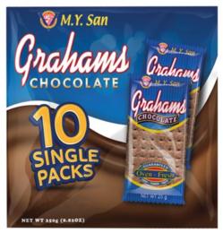 My San Grahams Chocolade Tarwebiscuits 250g