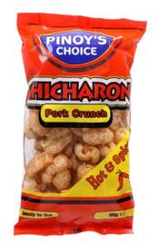 Pinoy's Choice Chicharon Pork Crunch (Hot & Spicy)  80g