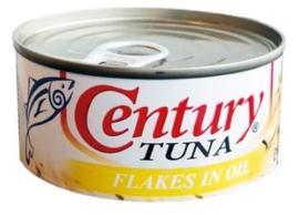 Century Tonijnstukken Flakes in Olie 180g