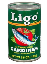 Ligo Sardines tomatensaus 155g