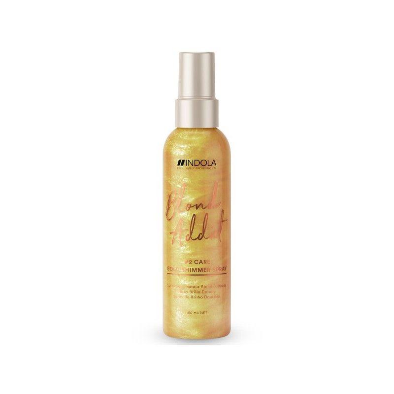 Indola Innova Blond Addict Gold Shimmer Spray 150ml