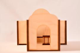 De synagoge en de bovenkamer